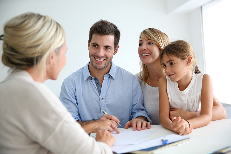 Family meeting a bankruptcy attorney and finding relief through the idea of the automatic stay